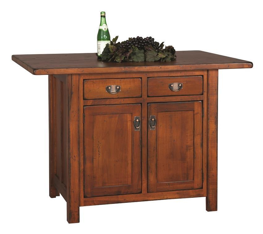 Custom Made Kitchen Island From Dutchcrafters Amish Furniture