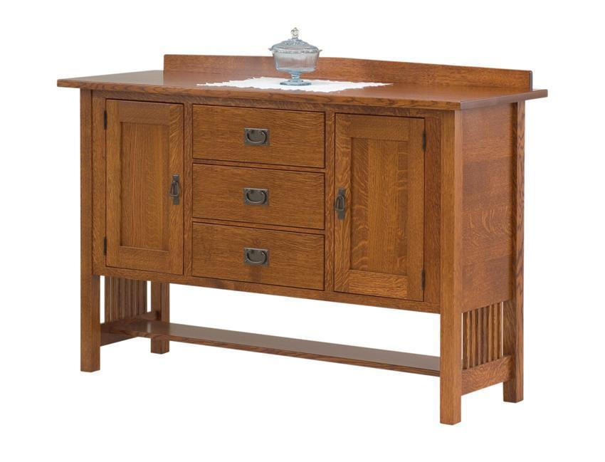 Mission Style Berkley Sideboard From Dutchcrafters Amish