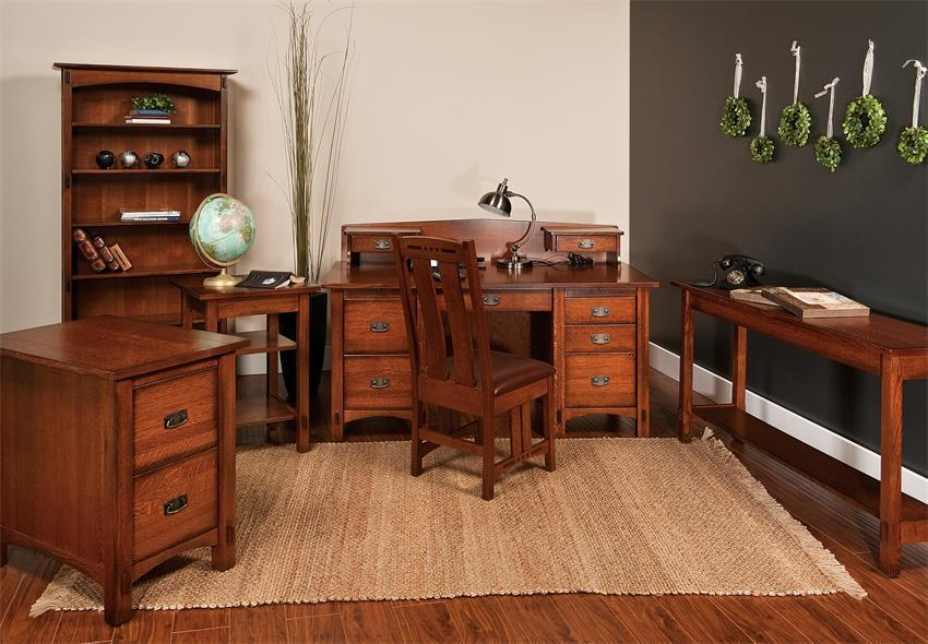 Amish Lucern Mission Office Table