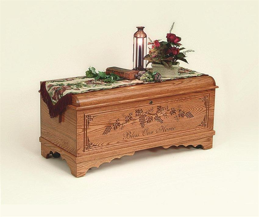 Medium Monroe Hope Chest From Dutchcrafters Amish Furniture