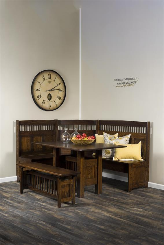 Solid Wood Nook Set From Dutchcrafters Amish Furniture