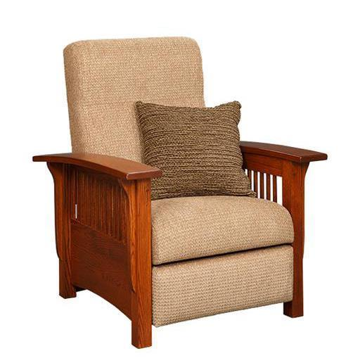 American Mission Recliner By Dutchcrafters Amish Furniture