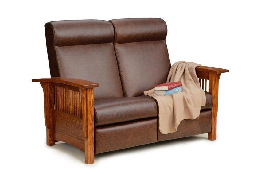 Incredible Amish Paradise Mission Reclining Loveseat Uwap Interior Chair Design Uwaporg