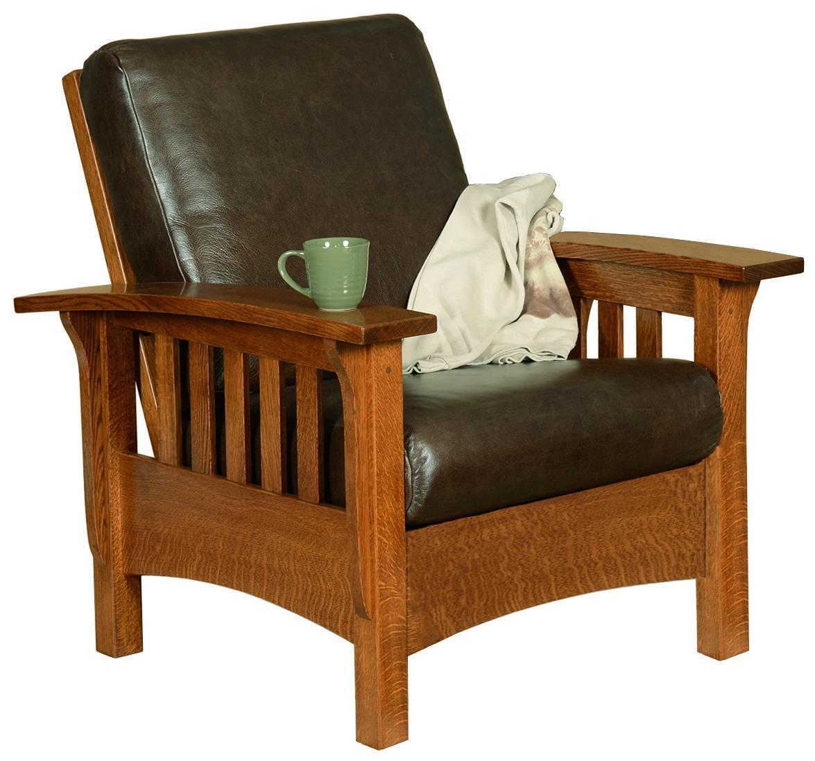 Amish Classic Mission Morris Chair From Dutchcrafters