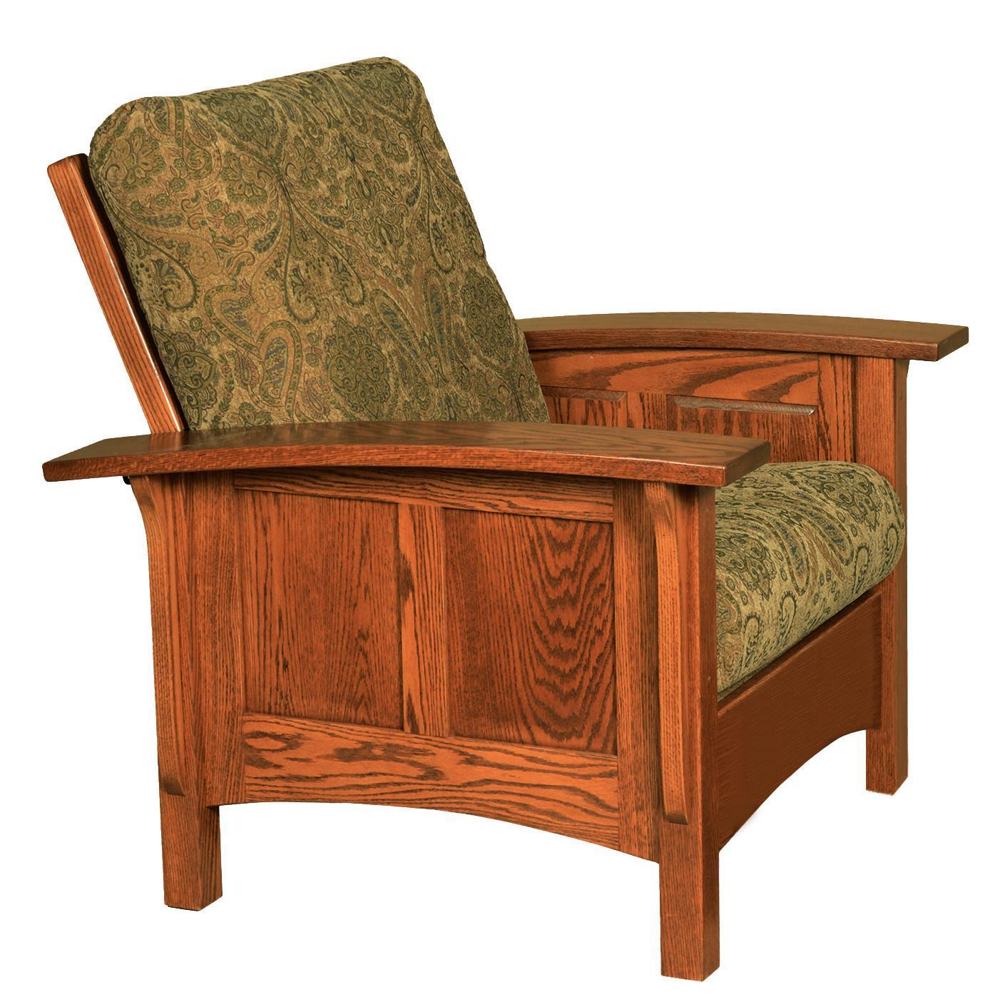 Magnificent Amish Paneled Mission Morris Chair Gamerscity Chair Design For Home Gamerscityorg