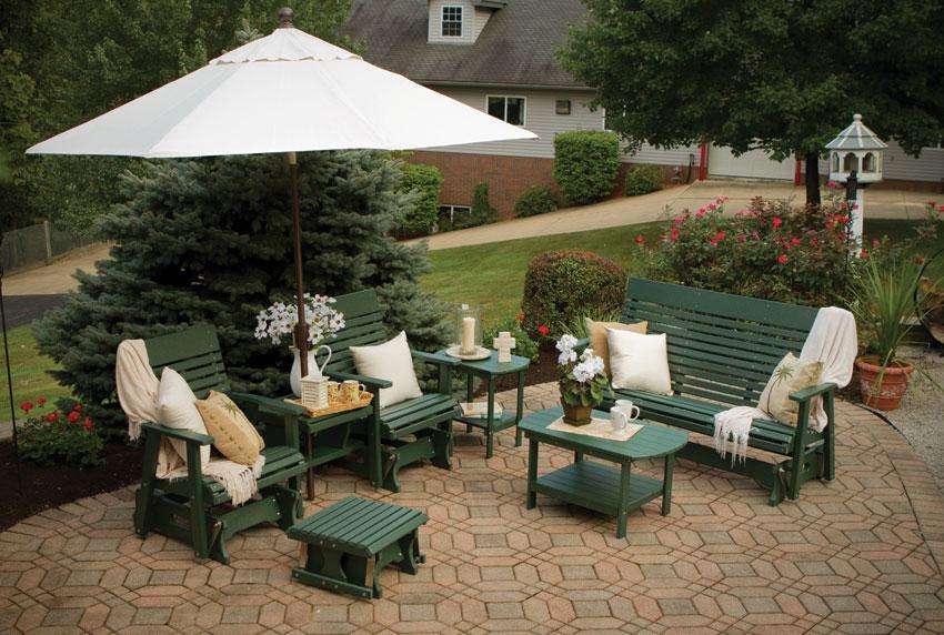 Amish Outdoor Benches