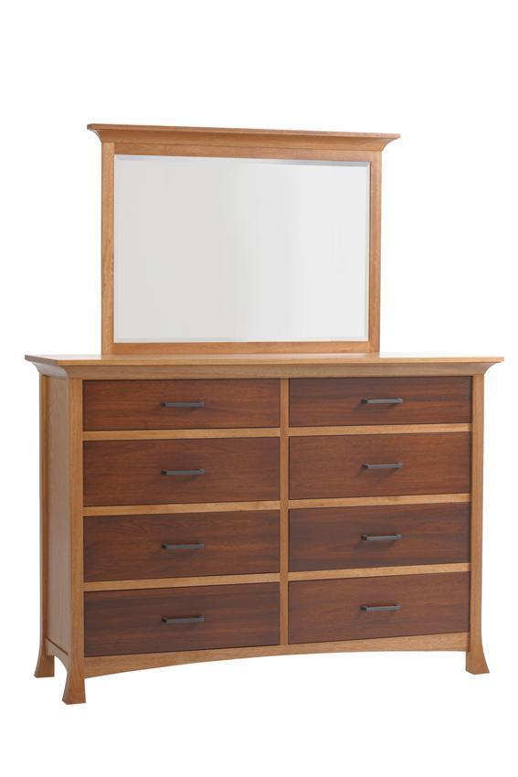 """Bedroom Furniture High Resolution: Amish Oasis 66"""" High Dresser From DutchCrafters Amish"""