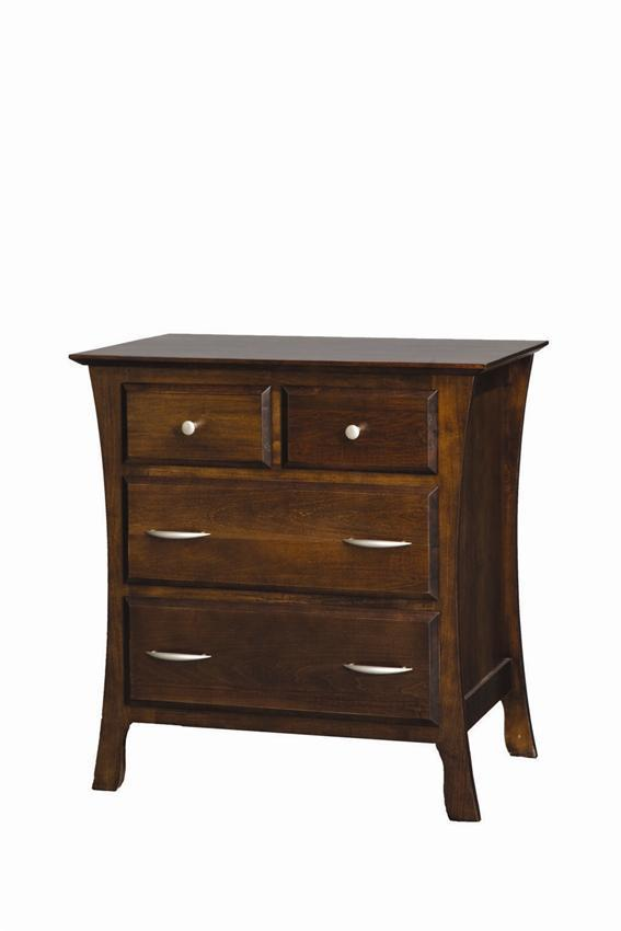 bedroom set with vanity amish bedside stand 14402