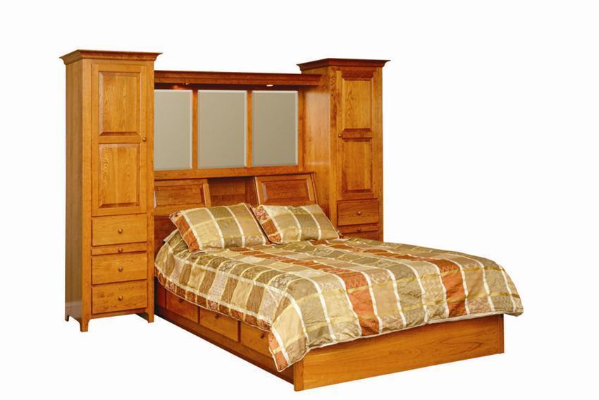 Amish Shaker Platform Bed
