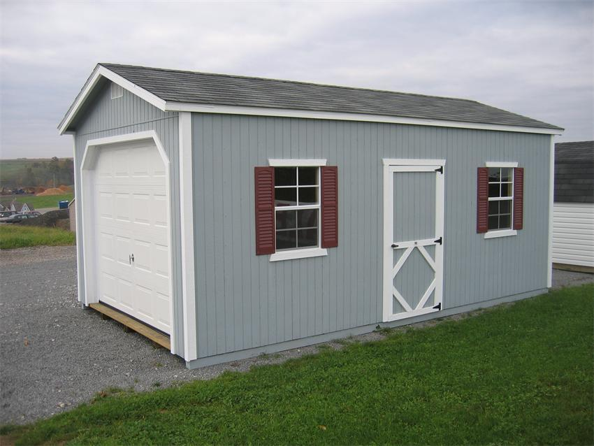 Classic DIY Garage Kit from DutchCrafters Amish Furniture