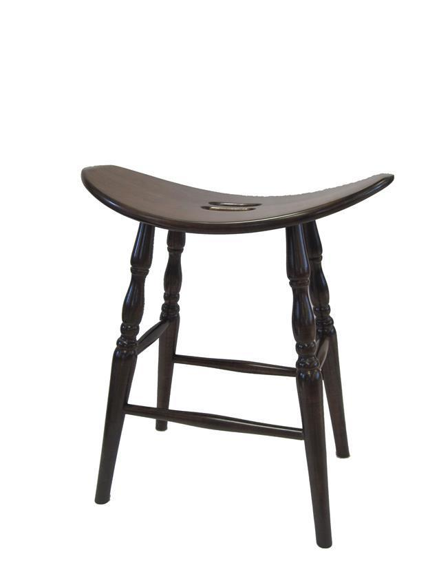Ohio Saddle Barstool From Dutchcrafters Amish Furniture