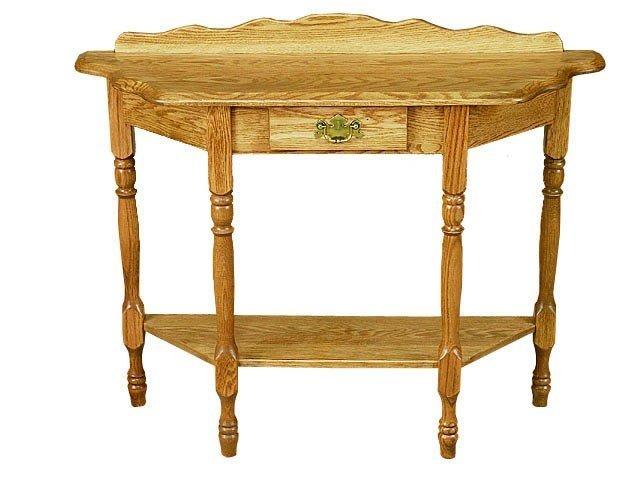 Amish Elegant Console Table