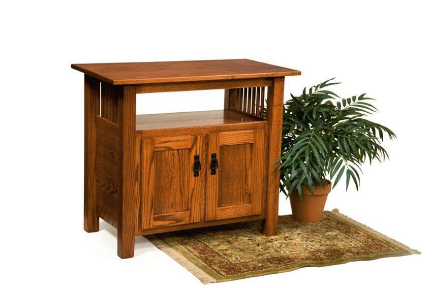 American Mission Tv Stand From Dutchcrafters Amish Furniture