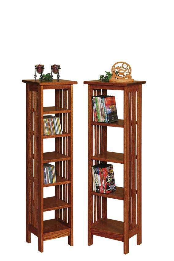 Amish CD/DVD Cabinets