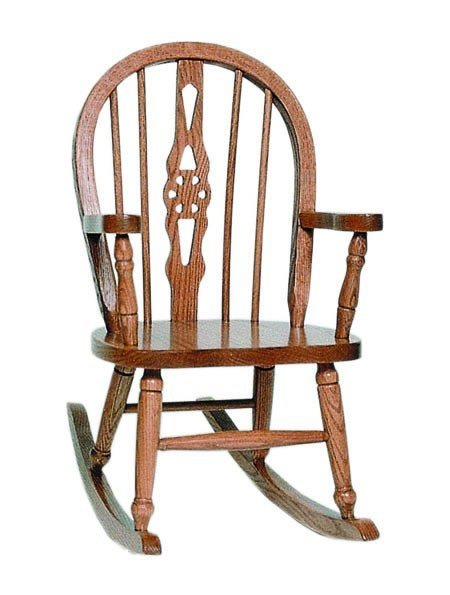 Fiddleback Windsor Kids Solid Wood Chair From