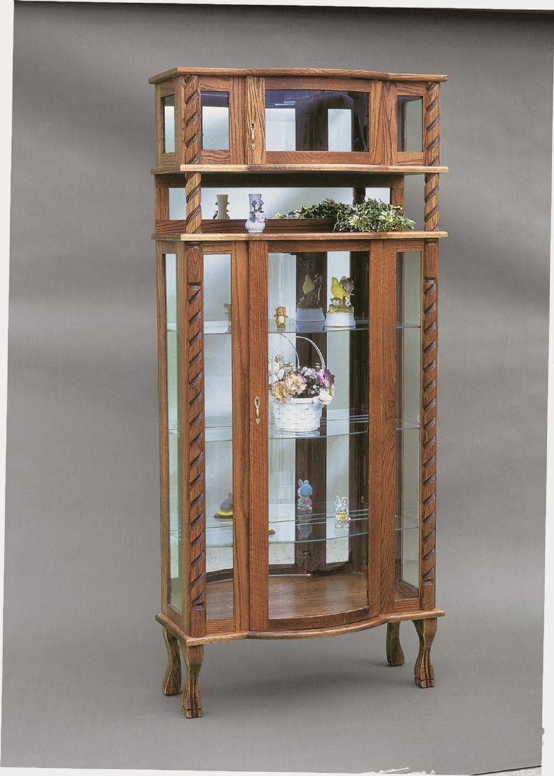 Amish Curio Cabinets