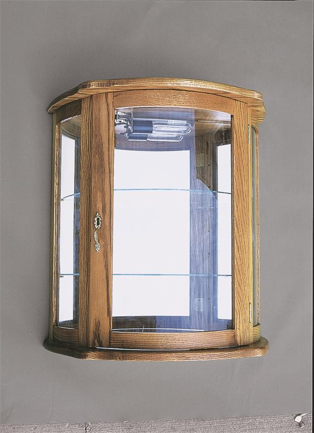 Flat Wall Curio Cabinet From Dutchcrafters Amish Furniture