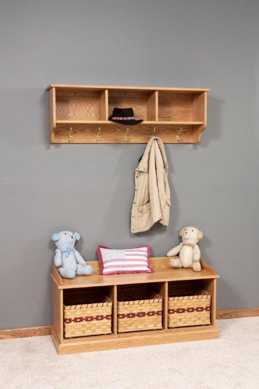 Traditional Storage Bench From Dutchcrafters Amish Furniture