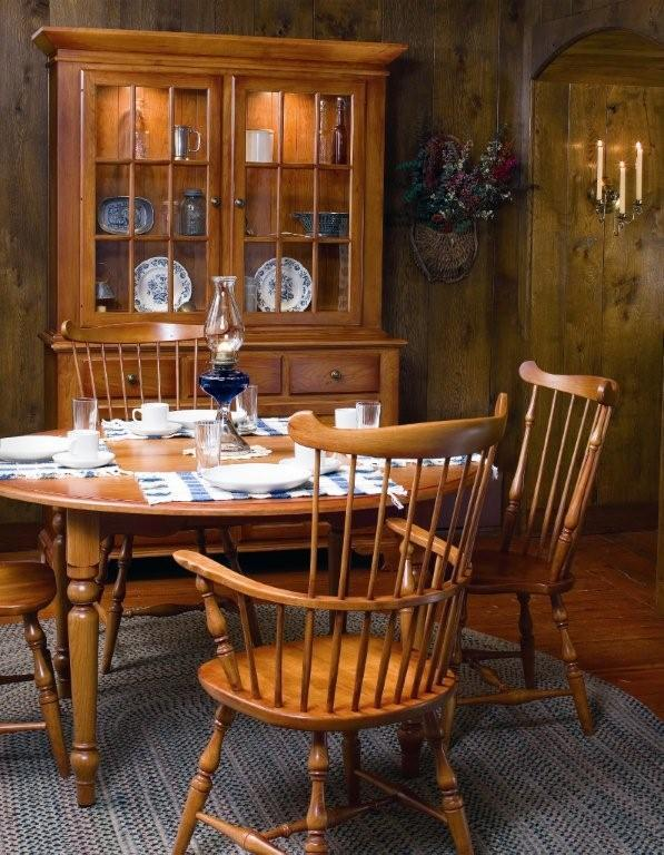 Asheville Fanback Windsor Dining Chair From Dutchcrafters Amish