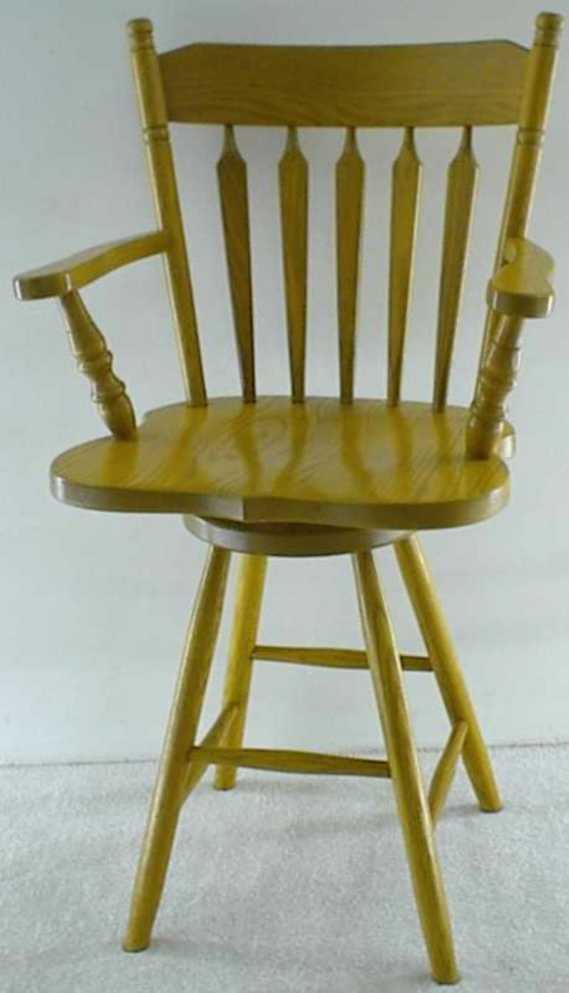 Colonial Arrow Back Barstool From Dutchcrafters Amish