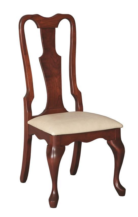 Queen Anne Dining Chairs from DutchCrafters Amish Furniture