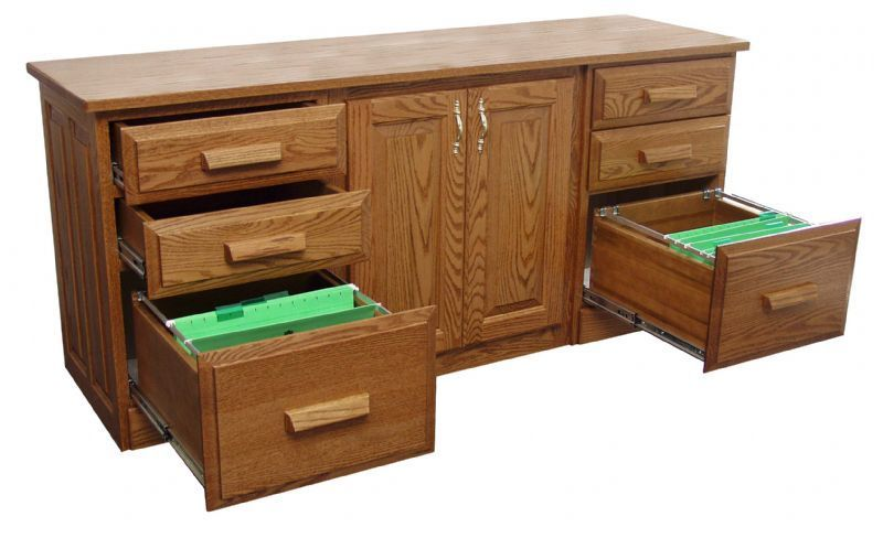 Traditional Credenza From Dutchcrafters Amish Furniture
