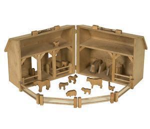 Wooden Farm Toys