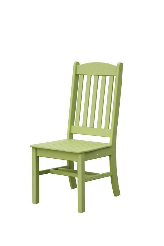 Sunnyside Poly Outdoor Side Dining Chair From Dutchcrafters Amish