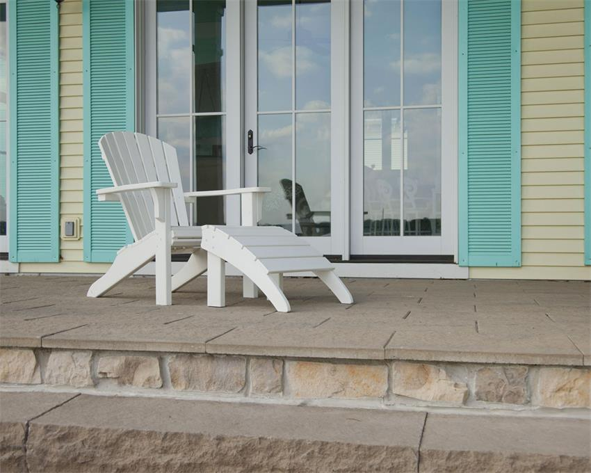 Polywood 174 Seashell Beach Chair From Dutchcrafters Amish