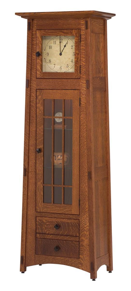 Handcrafted American Made Hardwood Grandfather Clocks From