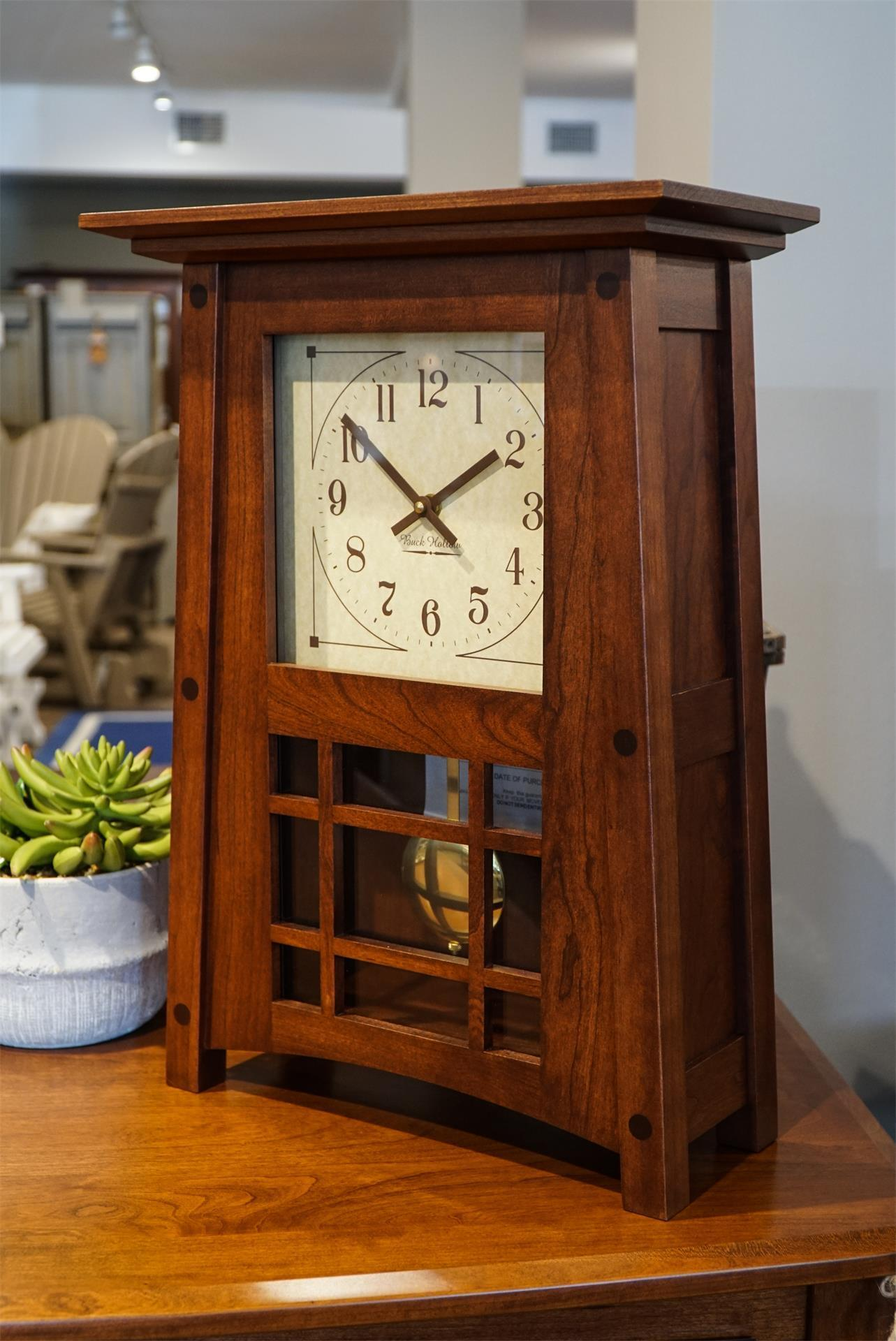 Amish Mccoy Mantle Clock From Dutchcrafters