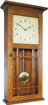 Amish Lancaster Wall Clock From Dutchcrafters