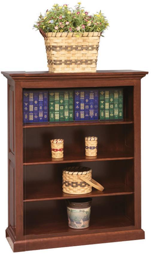 American Made Raised Panel Bookcase From Dutchcrafters