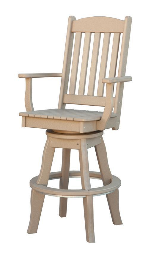 Sunnyside Poly Bar Stool From Dutchcrafters Amish Furniture