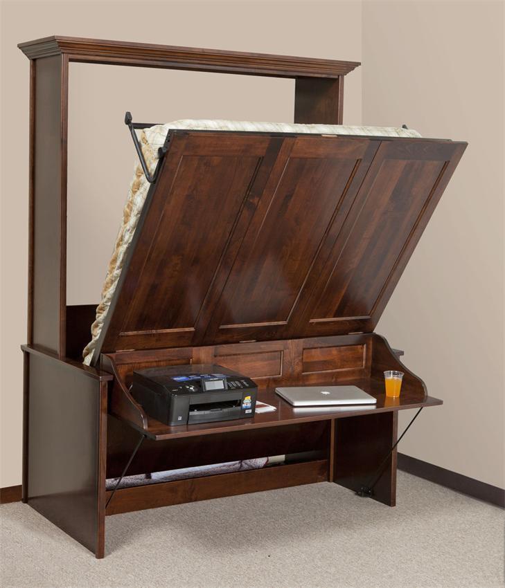Murphy Bed.Vertical Murphy Wall Bed And Desk