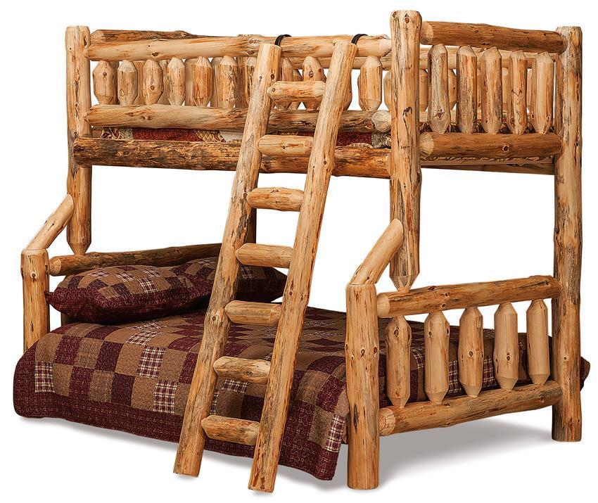 Amish Log Furniture Rustic Bunk Beds