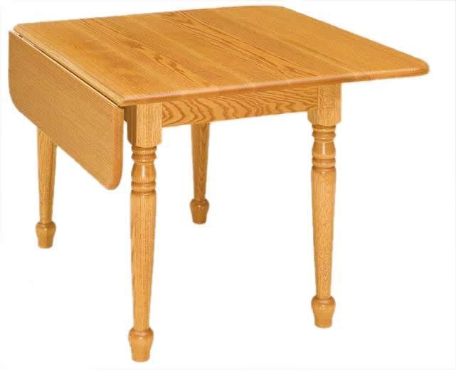 Rectangular Drop Leaf Table From Dutchcrafters Amish Furniture