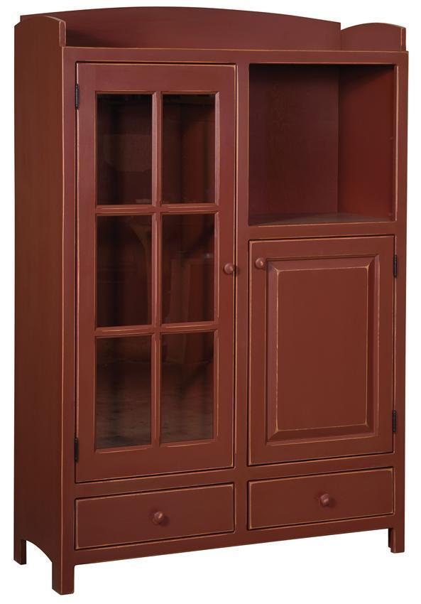 Country Style Pine Pantry Cabinet From Dutchcrafters Amish