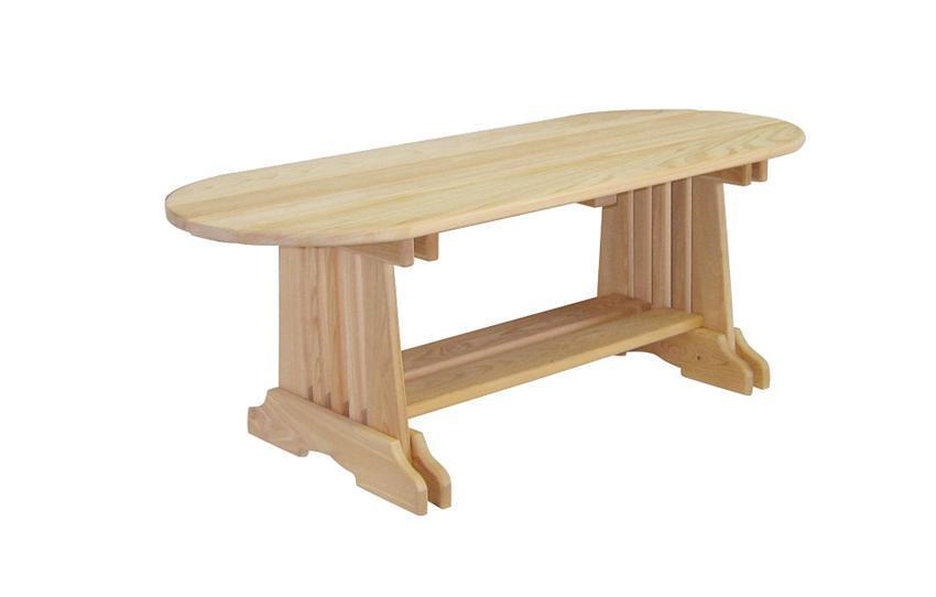 Amish Handcrafted Cypress Outdoor Coffee Table From Dutchcrafters