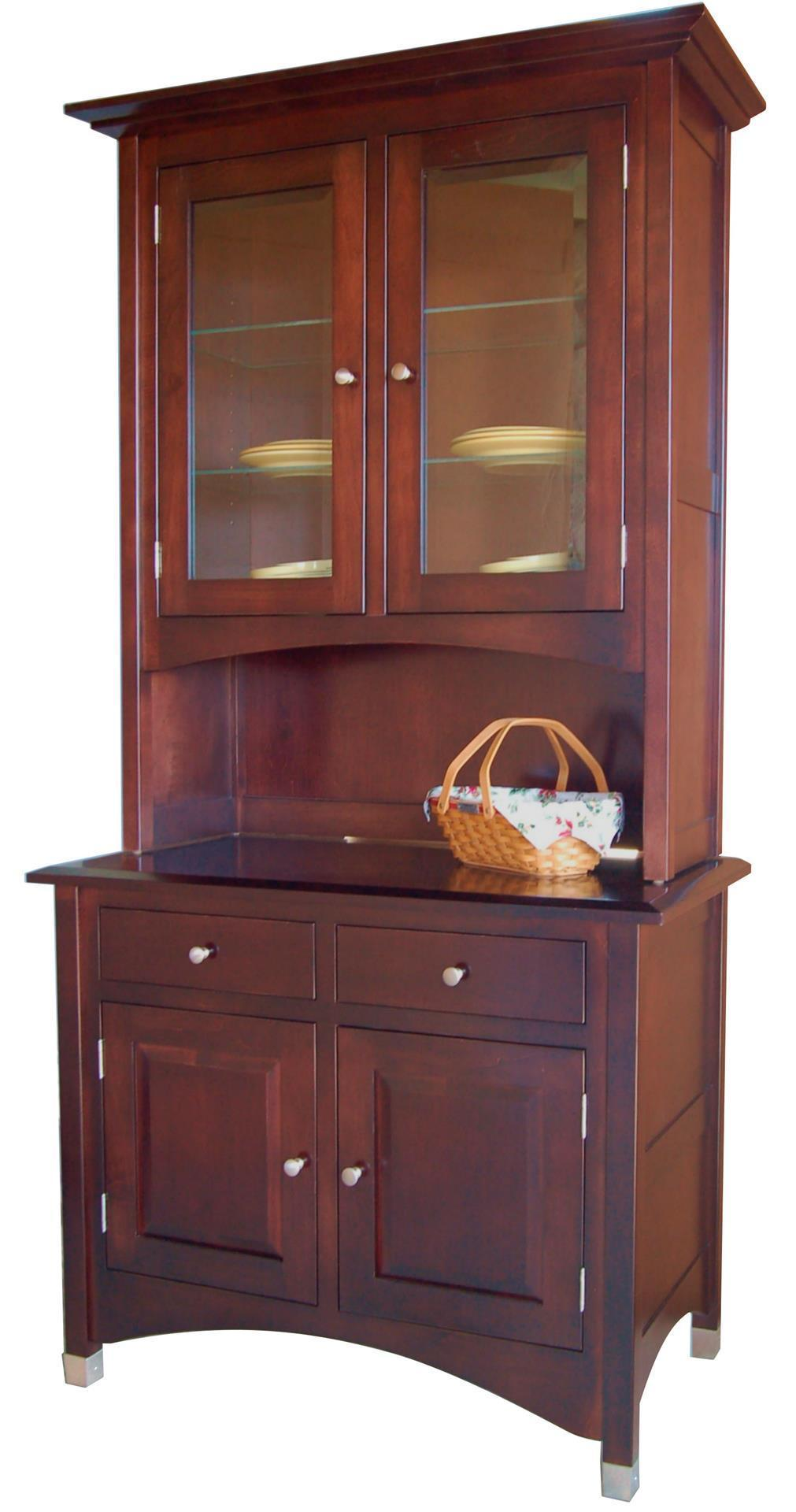 furniture hutch lexington hutch and buffet from dutchcrafters amish furniture
