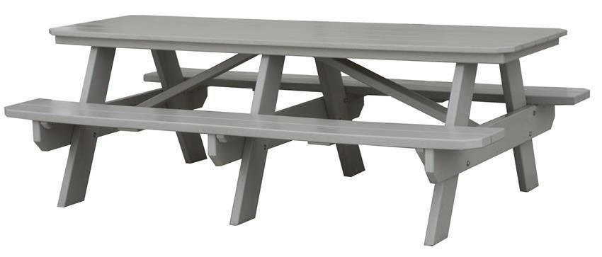 7 Poly Picnic Table From Dutchcrafters Amish Furniture