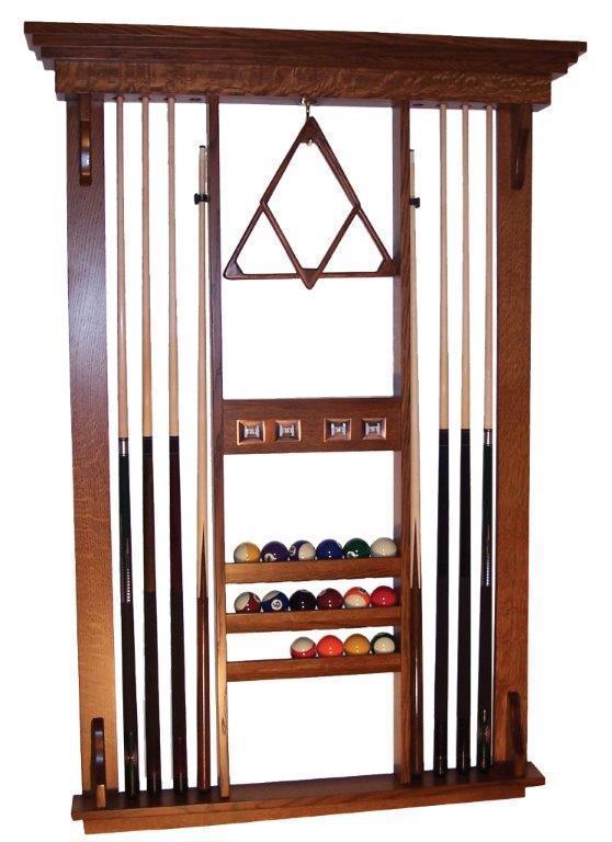 Wooden Billiard Pool Cue Rack Wall Mounted Rack Stick Holder Pool Wall Rack Cue Wall Rack Pool Cue Rack