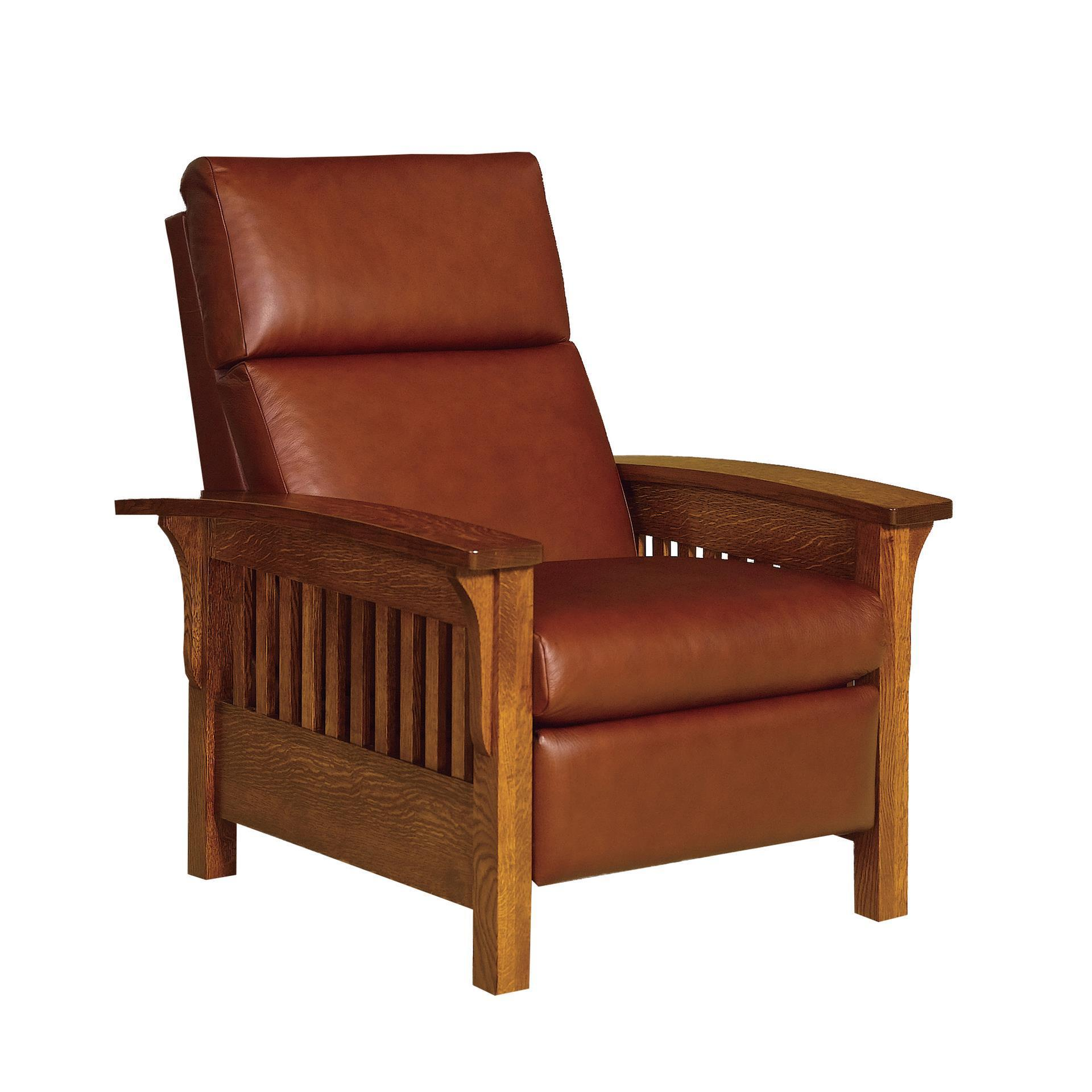 Heartland Slat Mission Recliner from DutchCrafters Amish Furniture