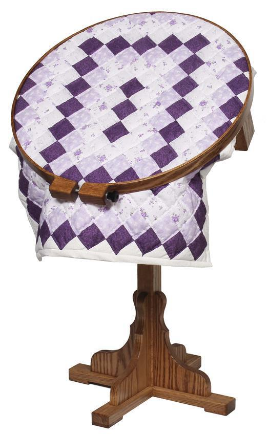 Solid Wood Quilting Hoop With Frame From Dutchcrafters