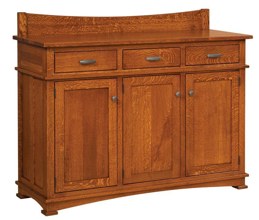 Amish Rustic Dining Room Sideboard Server Buffet Cambridge: Amish Solid Wood Sideboards & Buffets From DutchCrafters Amish