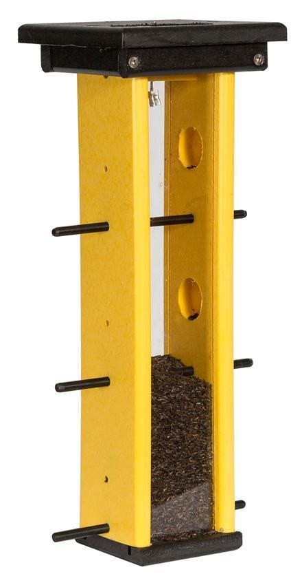 Recycled Plastic Finch Bird Feeder From Dutchcrafters