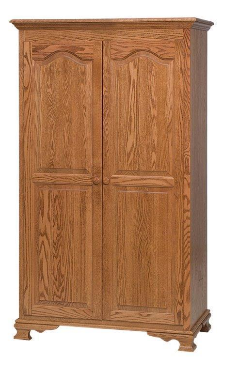 Amish Heritage Wardrobe From Dutchcrafters Amish Furniture