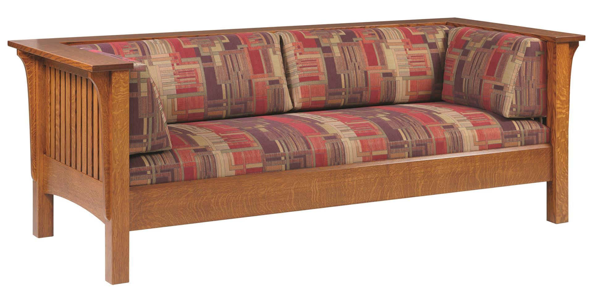 Mission Prairie Sofa From Dutchcrafters Amish Furniture