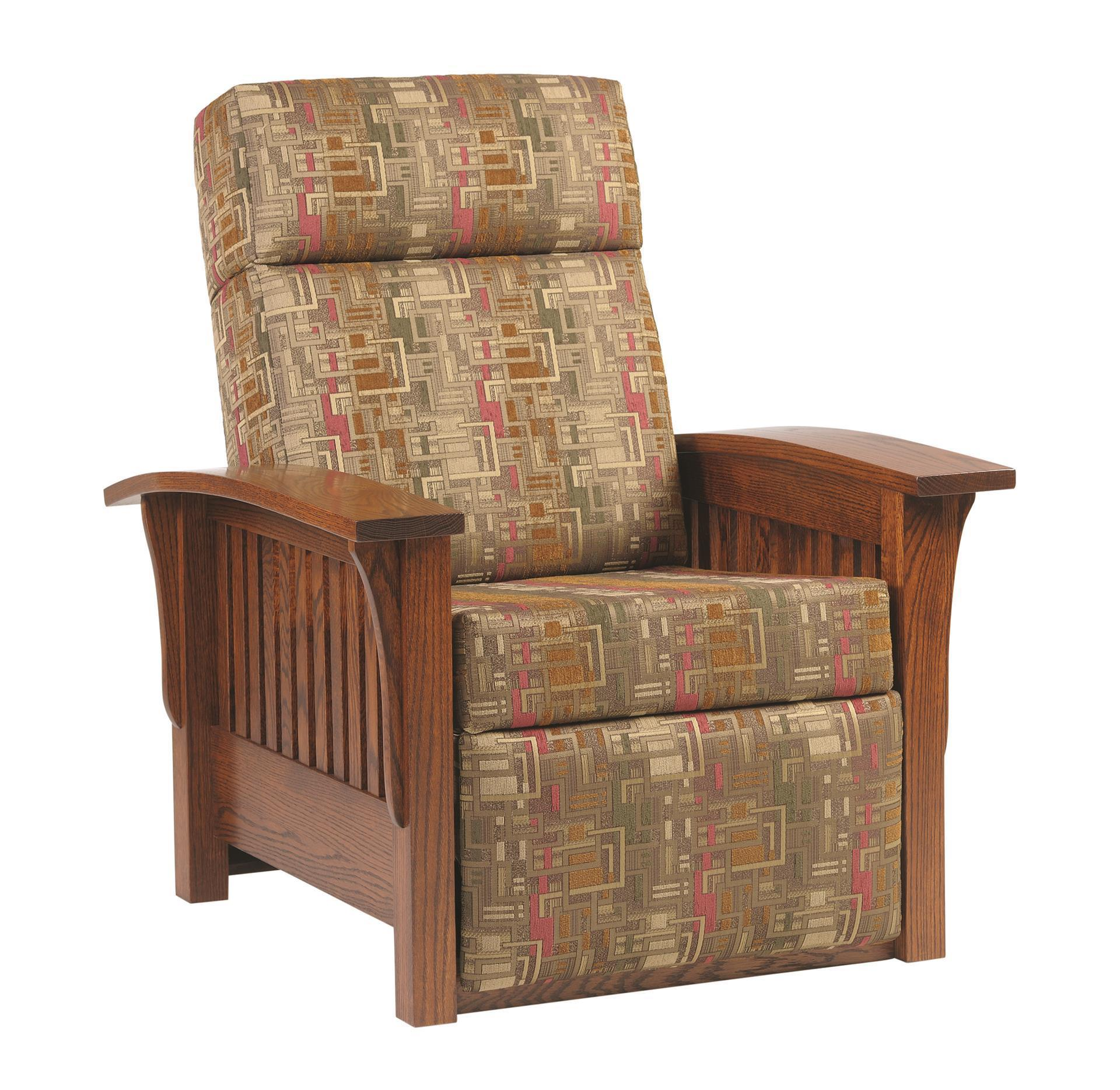 Wooden Mission Recliner Chair From Dutchcrafters Amish