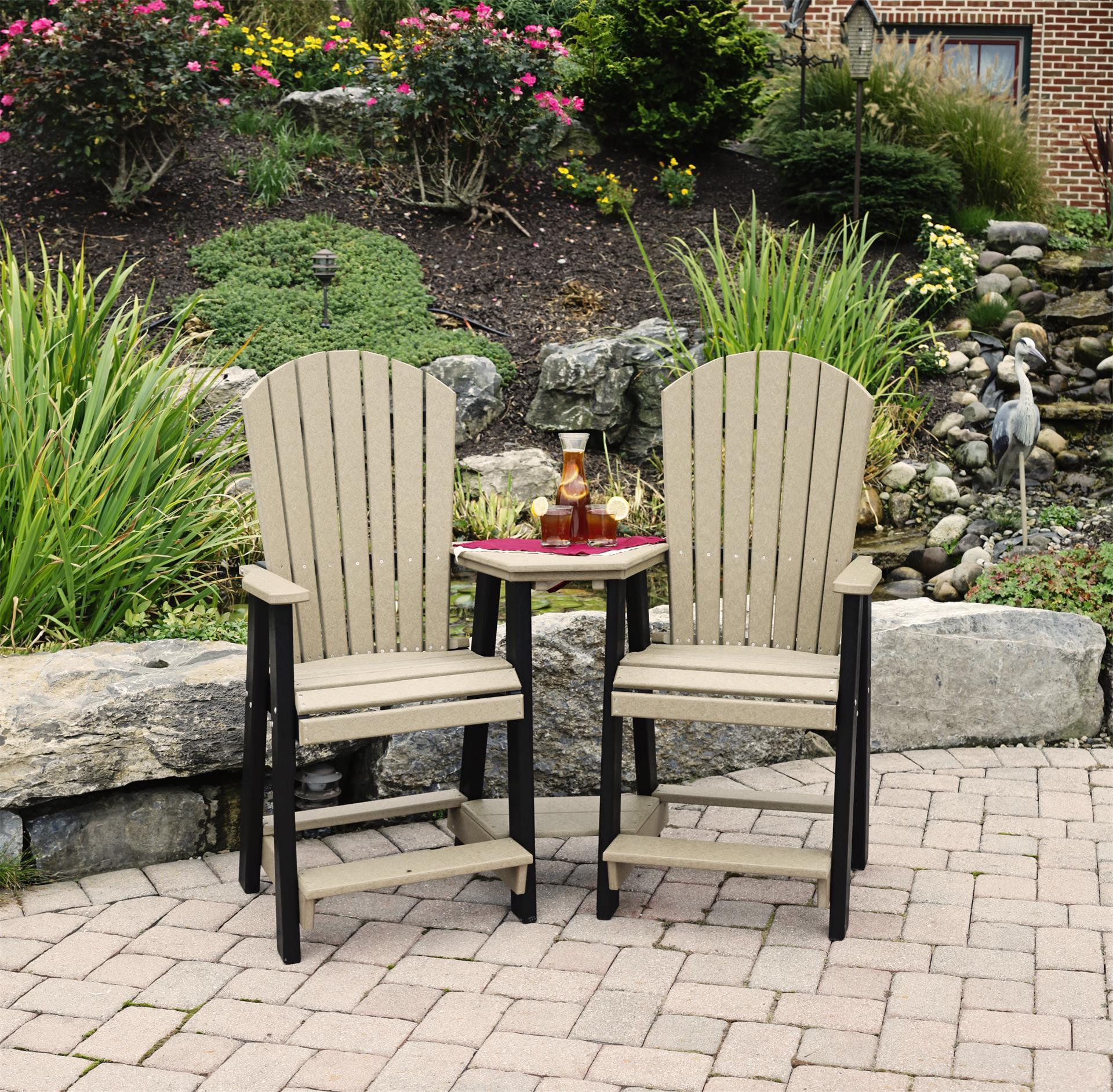 Polywood Patio Furniture Sale: Leisure Lawns Poly Balcony Settee From DutchCrafters Amish